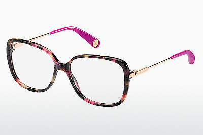 Lunettes design Marc Jacobs MJ 494 CDC - Brunes, Havanna, Or, Rose, Transparentes