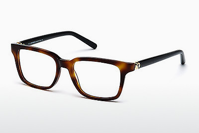 Eyewear Mont Blanc MB0486 052 - Brown, Havanna