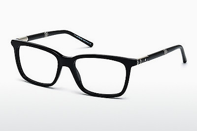 Eyewear Mont Blanc MB0489 001 - Black, Shiny