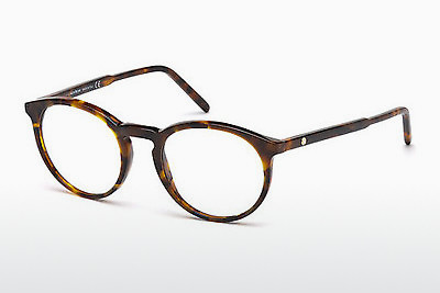 Eyewear Mont Blanc MB0554 052 - Brown, Dark, Havana
