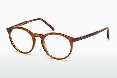 Lunettes design Mont Blanc MB0554 053 - Havanna, Yellow, Blond, Brown