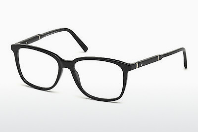 Eyewear Mont Blanc MB0620 001 - Black, Shiny