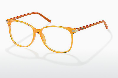 Lunettes design Polaroid PLD 3S 001 5P6 - Orange