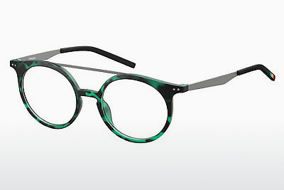 Eyewear Polaroid PLD D400 VZ7 - Green, Brown, Havanna, Silver
