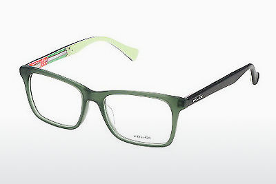 Eyewear Police TRICK 1 (VK037 0T52) - Green, Transparent