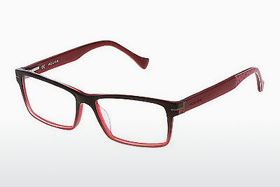 Eyewear Police STUNT 4 (VPL064 GFPM) - Red, Transparent