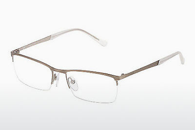 Lunettes design Police VPL092 08KT - Blanches