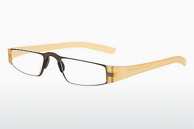Eyewear Porsche Design P8801 K D2.50 - Yellow, Transparent