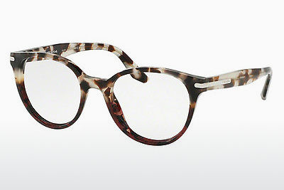 Eyewear Prada PR 07TV U6P1O1 - Brown, Havanna, Red