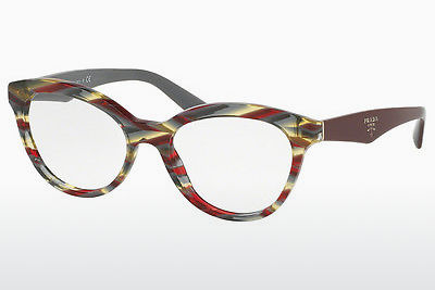 Lunettes design Prada TRIANGLE (PR 11RV VAP1O1) - Rouges, Multicolores