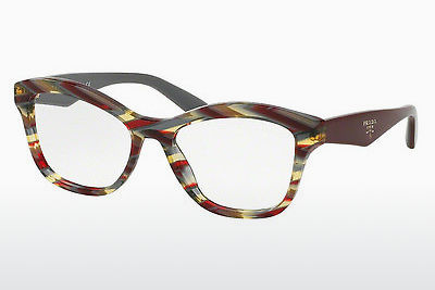 Lunettes design Prada PR 29RV VAP1O1 - Rouges, Multicolores