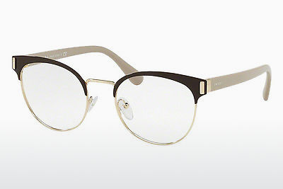 Eyewear Prada PR 63TV DHO1O1 - Brown, Gold