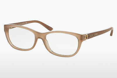 Lunettes design Ralph Lauren RL6137 5538 - Blanches, Taupe