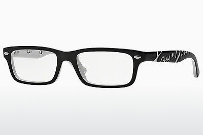 Lunettes design Ray-Ban Junior RY1535 3579 - Noires