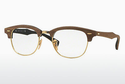 Eyewear Ray-Ban CLUBMASTER (RX5154M 5560) - Brown, Walnut