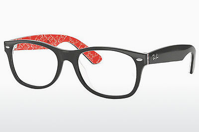 Eyewear Ray-Ban NEW WAYFARER (RX5184 2479) - Black, Patterned, Red