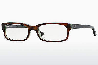Eyewear Ray-Ban RX5187 2445 - Brown, Havanna, Green