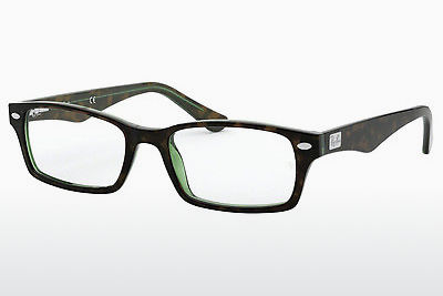 Eyewear Ray-Ban RX5206 2445 - Brown, Havanna, Green