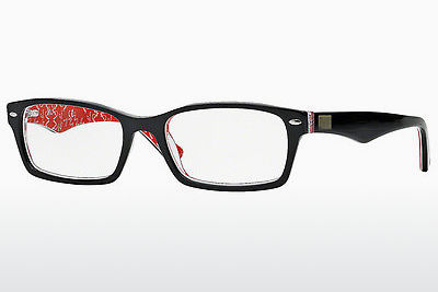 Eyewear Ray-Ban RX5206 2479 - Black, Patterned, Red