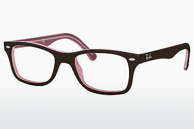Lunettes design Ray-Ban RX5228 2126 - Brunes
