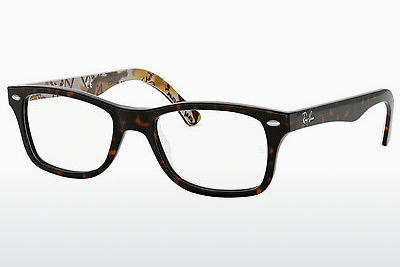 Eyewear Ray-Ban RX5228 5409 - Brown, Havanna, Patterned