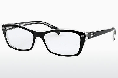 Eyewear Ray-Ban RX5255 (51) (RX5255 2034) - Black, Transparent