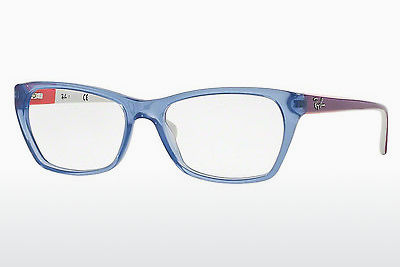 Lunettes design Ray-Ban RX5298 5551 - Bleues, Azure