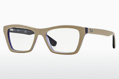 Eyewear Ray-Ban RX5316 5387 - Brown, Beige