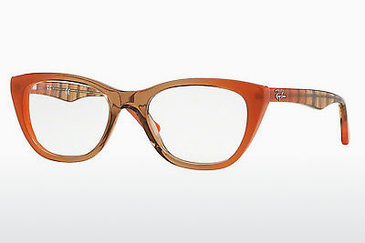Lunettes design Ray-Ban RX5322 5487 - Brunes, Orange