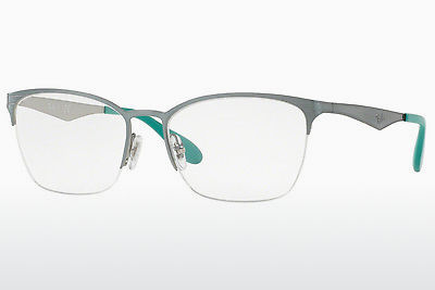Lunettes design Ray-Ban RX6345 2919 - Argent