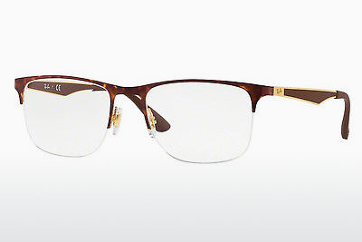 Eyewear Ray-Ban RX6362 2917 - Gold, Brown, Havanna