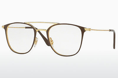 Lunettes design Ray-Ban RX6377 2905 - Or, Brunes