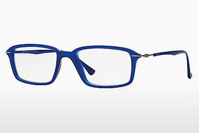 Lunettes design Ray-Ban RX7019 5242 - Bleues