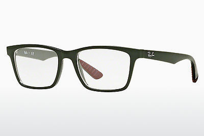 Lunettes design Ray-Ban RX7025 5420 - Vertes, Military
