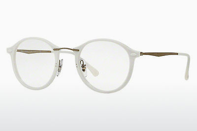 Lunettes design Ray-Ban RX7073 5618 - Blanches