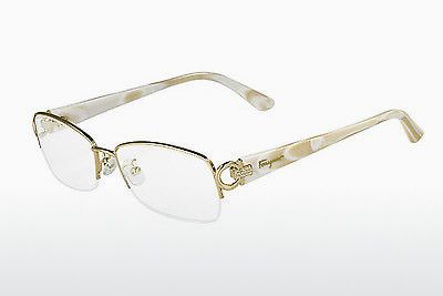 Lunettes design Salvatore Ferragamo SF2104R 717 - Or