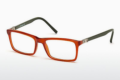 Lunettes design Timberland TB1334 042 - Orange, Shiny