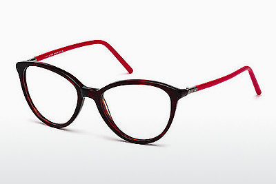 Lunettes design Tod's TO5122 054 - Havanna, Red