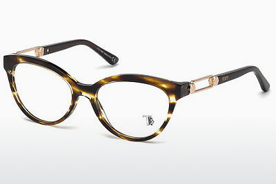 Lunettes design Tod's TO5162 055 - Multicolores, Brunes, Havanna