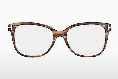 Lunettes design Tom Ford FT5233 052 - Brunes, Dark, Havana