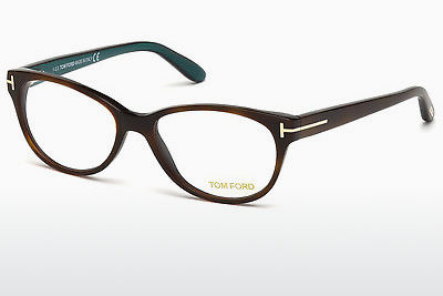 Lunettes design Tom Ford FT5292 052 - Brunes, Dark, Havana
