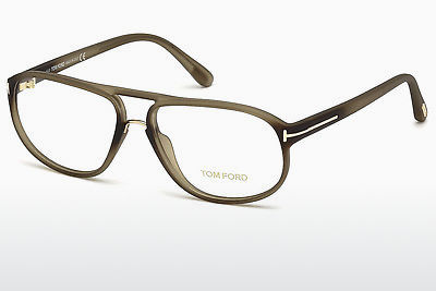 Lunettes design Tom Ford FT5296 046 - Brunes, Bright, Matt