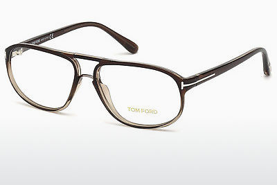 Lunettes design Tom Ford FT5296 050 - Brunes