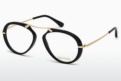 Lunettes design Tom Ford FT5346 001 - Noires, Shiny