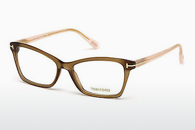 Lunettes design Tom Ford FT5357 048 - Brunes, Dark, Shiny