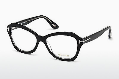 Lunettes design Tom Ford FT5359 003 - Noires, Transparent