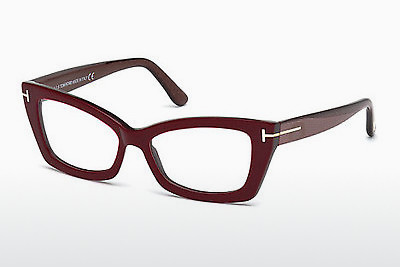 Lunettes design Tom Ford FT5363 071 - Bourgogne, Bordeaux