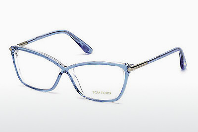 Lunettes design Tom Ford FT5375 086 - Bleues, Azurblue