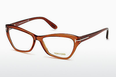 Lunettes design Tom Ford FT5376 042 - Orange, Shiny
