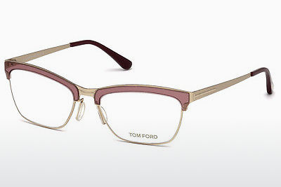 Lunettes design Tom Ford FT5392 071 - Bourgogne, Bordeaux